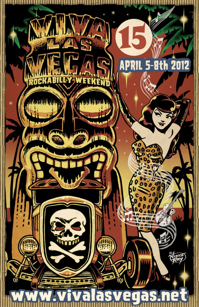 Official VLV Poster, art by Vince Ray
